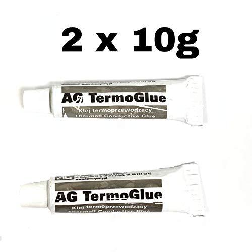 Termopasty felixmania 24h Pâte Thermique adhésif Colle 2X 10G Thermal Conductive Glue CPU Solaire