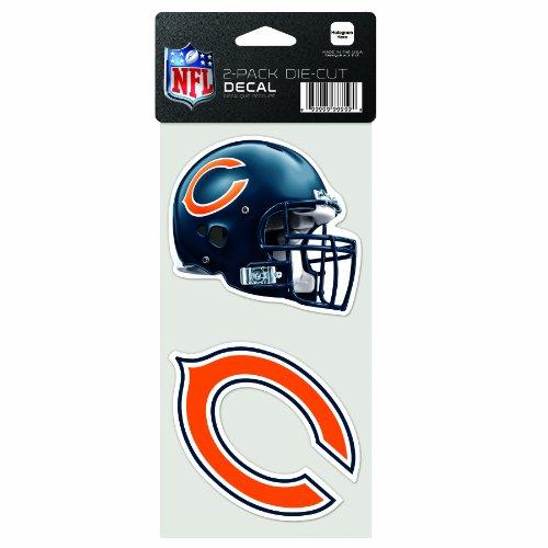 ges gestanztes Aufkleber, 10,2 x 20,3 cm, Chicago Bears ()