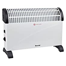 2000W Portable Electric Convector Heater With Thermostat, 3 Heat Settings