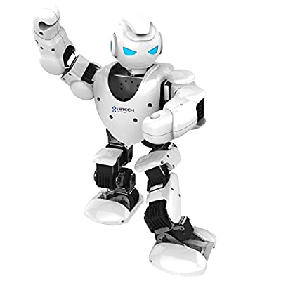 UBTECH Alpha 1S Intelligent Humanoid Robot (White)