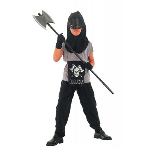 HENKER Scharfrichter Kostüm Halloween Fasching 7-9 J Kinder