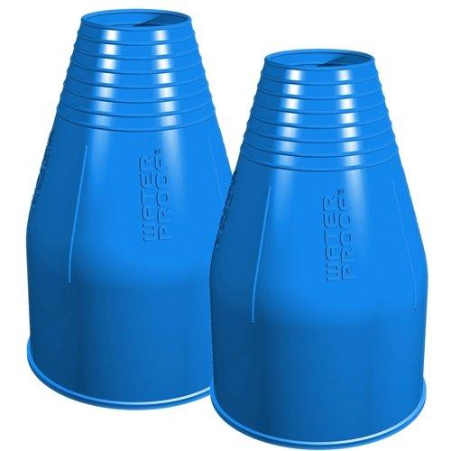 Waterproof Silikon Armmanschette für Trockentauchanzug (blau) (S)