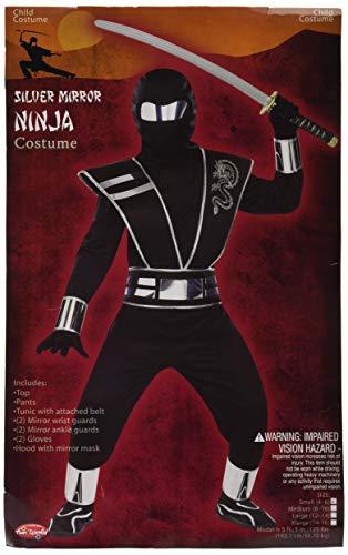 Silver Mirror Ninja Chld Sm