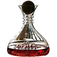 JANRON Décanter,Carafe à décanter,Iceberg,Bouchon de vin en Bois,Envoyer f416f20f1e17
