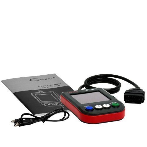 Preisvergleich Produktbild OBD2 Scanner Tester Launch Creader V Deutsch OBD 2 Fehler lesen und löschen Diagnosegerät