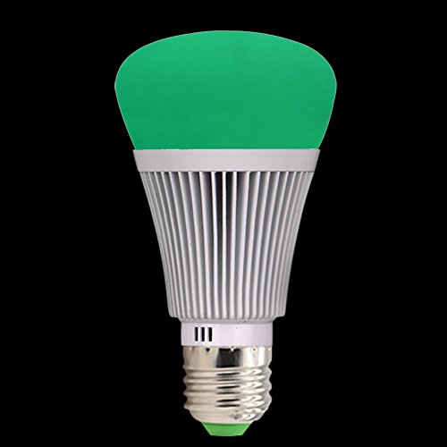 Molie Smart Lampe 7W RGB Glühbirne Led Wifi Lampen Dimmbar E27 Wlan Lampe mit Amazon Alexa,Google Home,Steuerbar via App - 7