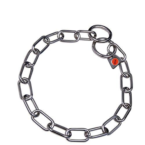 Artikelbild: Sprenger Kettenhalsband Mediumkette mit 2 Ringen Edelstahl 3 mm für Hunde bis 55 kg (39 cm)