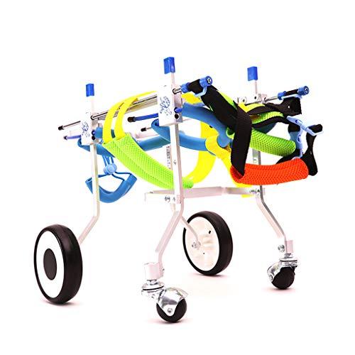 Silla de ruedas para mascotas, Perro, Gatito, Mascota, Discapacidad de la...