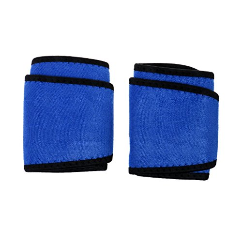 Verstellbare Handgelenkbandage, Sport Wrist Wrap / Handgelenkstütze Band für Basketball, Kraftsport, Bodybuilding, usw. - Blau, 37 x 10 cm (L x B)