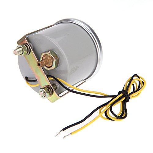KKmoon-2-Pollici-52mm-Motore-Auto-Bar-Boost-Gauge-Universale-Fumo-Indicatore-Lens-Bianco-Meter