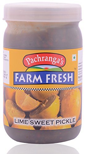 Pachranga Farm Fresh Lime Sweet Pickle - 400 Gram