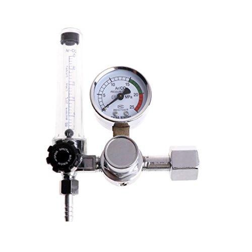 Metall-Schweißgas-Messgerät Argon CO2-Druckmessgerät MIG TIG MAG Schweißmessgerät -