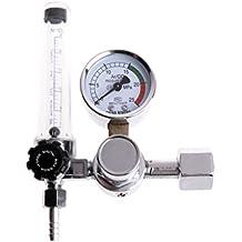 Regulador de flujo de presión de gas de soldadura de metal Argon CO2, medidor MIG