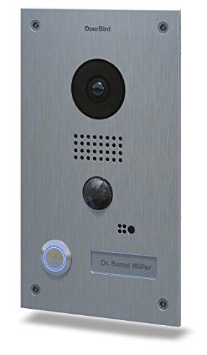 Preisvergleich Produktbild Bird Home Automatisierung, Gruppe D202DoorBird Video Türstation und Intercom–Edelstahl