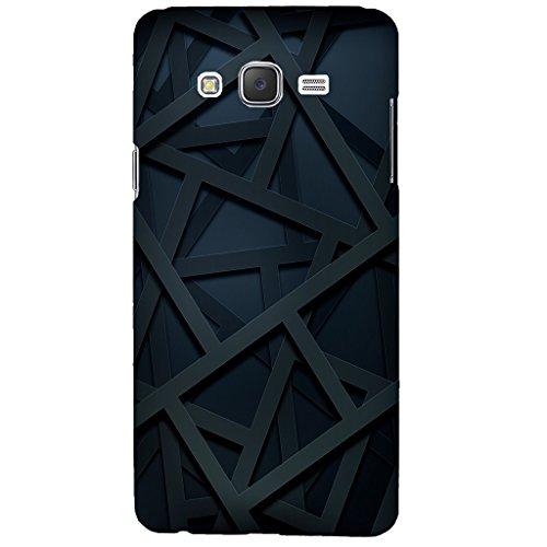 Urban KOLOURS Original Designer Printed Hard Case Back Cover for Samsung Galaxy J7 (Zig Zag Lines)