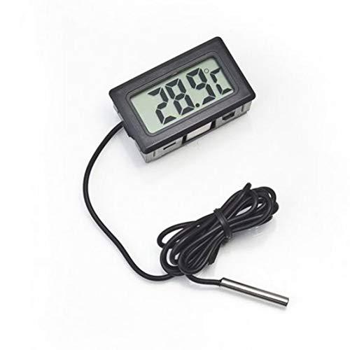 LouiseEvel215 Professionelles tragbares elektronisches LCD-Digital-Thermometer für Kühl- / Gefrierschrank- / Aquarium- / Fisch-BEHÄLTER-Temperatur -