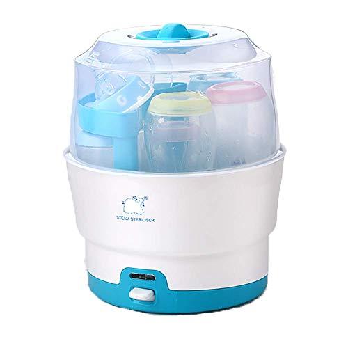 CASILE Flaschen Sterilisator- PP-Material 220V Desinfizieren Sie jeweils 6 Flaschen EIN-Knopf-Bedienung,Geeignet für Babyartikel usw.L22*H28CM - Desinfizieren Geschirrspüler