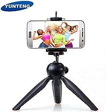 Techlife TECH002 Mini Tripod Mount for Mobile Phones and Digital Camera (Black)