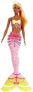 Barbie Dreamtopia, muñeca Sirena top bikini,  juguete +3 años (Mattel FJC91)
