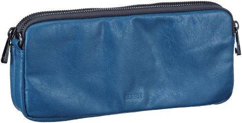 ESPRIT K15081, Damen Clutches, Blau (Seaport 442), 11x24x4 cm (B x H x T) (Colorblock Clutch)