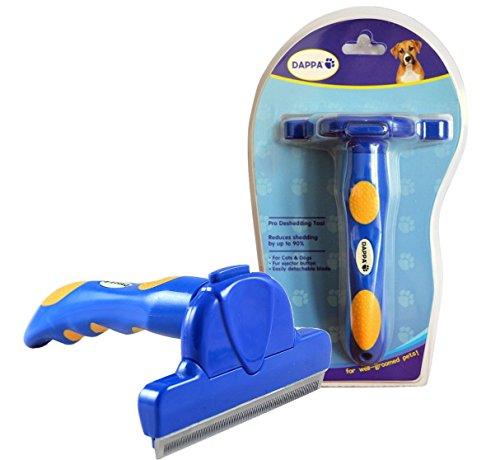 Artikelbild: DAPPA® Pro DeShedding-Pflegewerkzeug Tool für Hunde, Katzen und Pferde