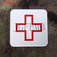 Generic 5cm Platz Das Rote Kreuz Tactical Military Moral 3D PVC Patch rot weiß schwarz: PB956 preisvergleich bei billige-tabletten.eu