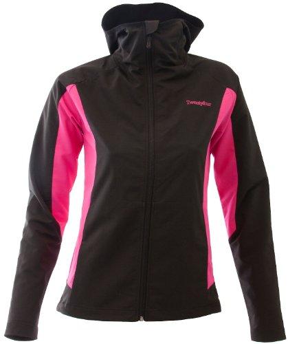 Golf Regen Kleidung (Twentyfour Damen Softshelljacke Thesis, Schwarz, 46)