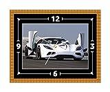 KOENIGSEGG Agera R Super Auto Wand Uhr Geschenk Geschenk Weihnachten Geburtstag (kann personalisiert werden)