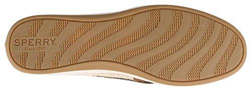 Sperry Top-Sider  Firefish Animal Leather Fabric, Damen Sneaker beige beige Tan Leopard
