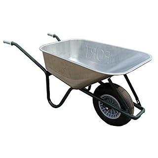 ALTRAD FORT Qualitäts Bauschubkarre Gartenkarre Schiebekarre 100l Liter Stahl ***NEU***