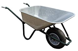 FORT Qualitäts Bauschubkarre Gartenkarre Schiebekarre 100l Liter Stahl ***NEU***