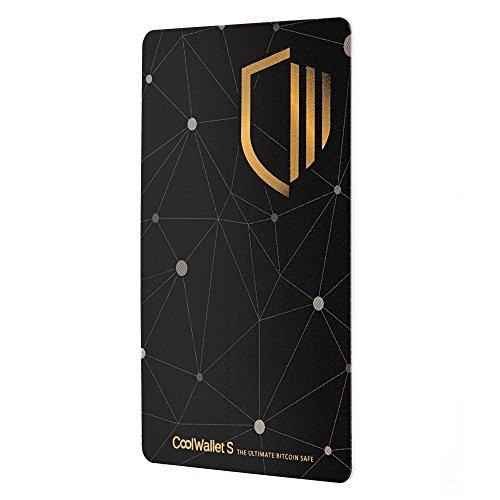 Coolwallet S Bluetooth Hardwarewallet zum Aufbewahren von Kryptowährungen wie Bitcoins, Ethereum inkl. Token (ERC20), Litecoin, Ripple etc.