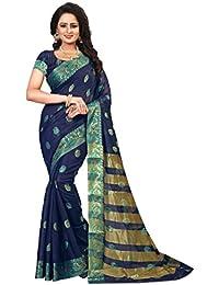 Ecolors Fab Women's Tussar Silk Saree Kanchipuram Style (saree For Women Latest Design 2018 /Party Wear Sarees...