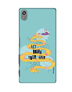 Pick Pattern with Exclusive DISNEY Characters Back Cover for Sony Xperia Z5 Plus