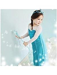 Déguisement 2 pièces Elsa Reine des Neiges 18 mois à 8 ans (A) 18/24 mois,3/4 ans,7/8 ans