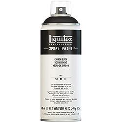 Liquitex 02454 Bombe de peinture aérosol 400 ml Noir carbone