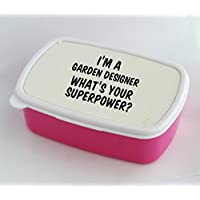Lunch box with I'm a Garden Designer whats your (Designers Lunch Box)