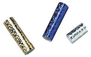 Susy tarjeta 11138112 - serpentinas, la holografía, recubierto por una cara con papel de aluminio, color ordenadas, 3 rollos