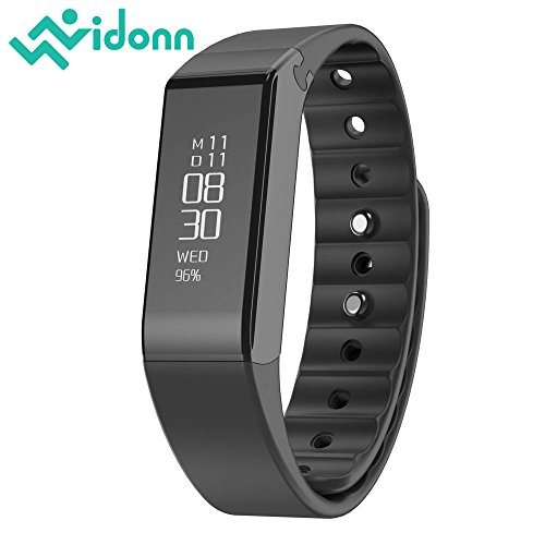 Vidonn Smart Bracelet X6S (Color: Schwarz) IP65 Water Resistant Activity Trackers for Android/iOS Smartphone