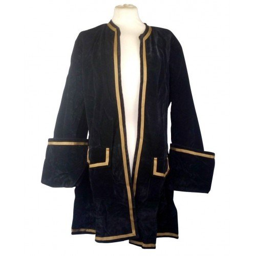 HB emporium LARP Frock Coat Velvet Pirate ()