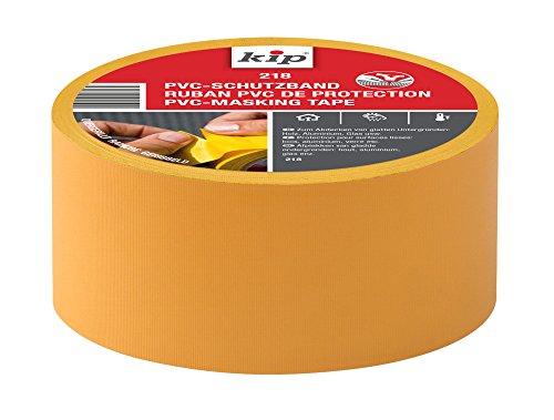 Kip 222782 PVC-Schutzband 218-16, 50 mm x 33 m, Gelb