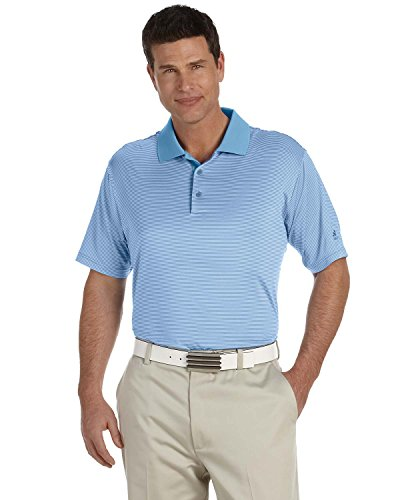 Adidas Golf Herren Climalite (R) Streifen Kurzarm Polo A119 xl Blau - TWILIGHT/TIDE (Climalite Golf)