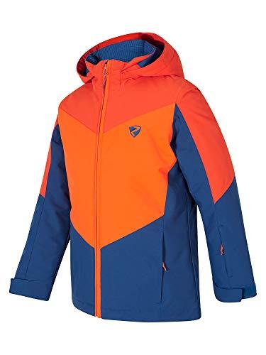Ziener Jungen Avan jun (Jacket ski) Kinder Skijacke, Winterjacke/Wasserdicht, Winddicht, Warm, Nautic, 152