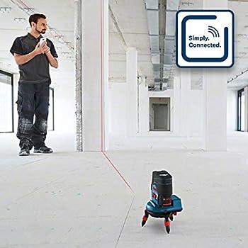 Bosch Professional GCL 2-50 C Combi Laser (Rotating Mount 2 + BT150, 12 V)