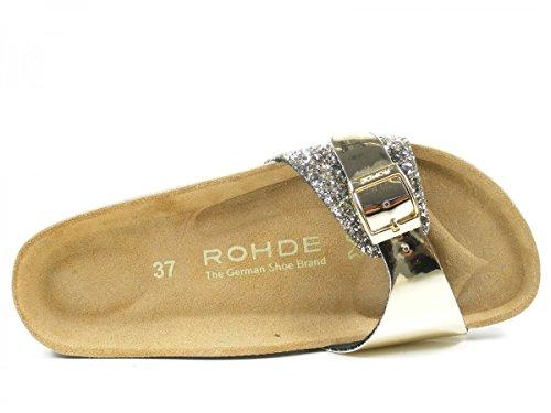 Rohde Alba, Ciabatte Donna Oro (gold)