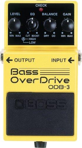 Boss ODB-3 Bass Overdrive, Effektgerät für E-Bass