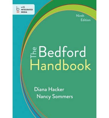 [(The Bedford Handbook)] [Author: Diana Hacker] published on (March, 2014)
