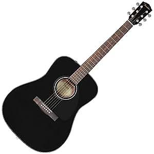 fender 0961545006 cd 60 acoustic guitar black musical instruments. Black Bedroom Furniture Sets. Home Design Ideas