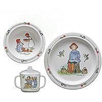 R/ätt Start Visier Design Kinder Geschirr Geschenk-Box 3-teilig