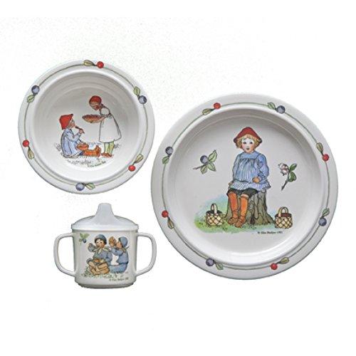 Rätt Start Putte (Belgien) Design Kinder Geschirr Geschenk-Box, 3-teilig -